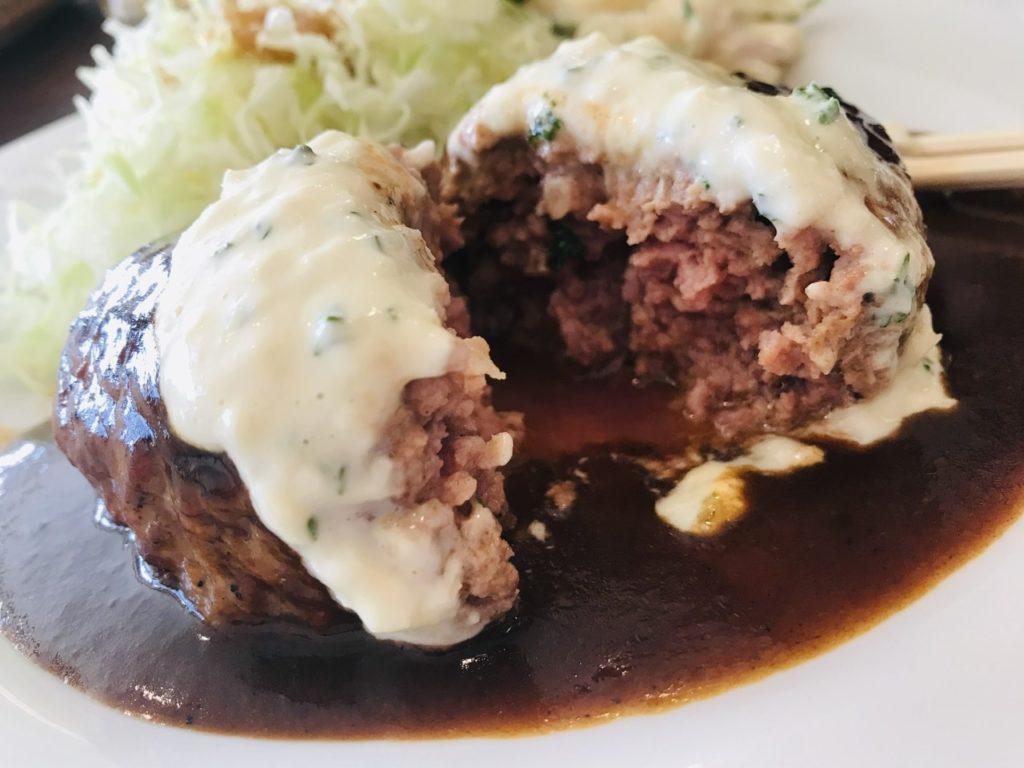 【日吉】昔ながらの洋食屋さんプクプク亭でランチ!プクプク亭特製ハンバーグ