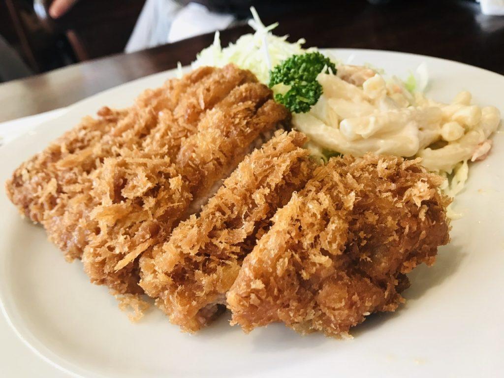 【日吉】昔ながらの洋食屋さんプクプク亭でランチ!もちぶたロースカツ
