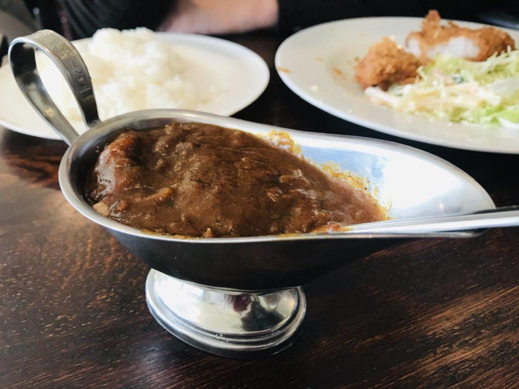 【日吉】昔ながらの洋食屋さんプクプク亭でランチ!トッピングに「ポークカレーのソース」。
