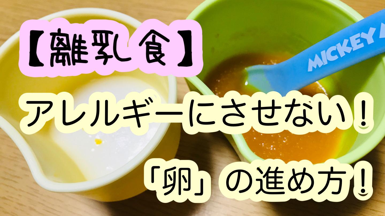 【離乳食】卵はいつから?アレルギーにさせない進め方!冷凍ストックして食べさせよう!