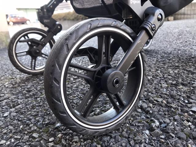 ベビーカーの選び方のポイント!失敗しないために確認すること!タイヤの大きさ。