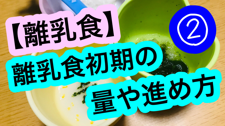 【離乳食】初期(5~6ヶ月)の量や進め方の実際②【1回食⇒2回食】